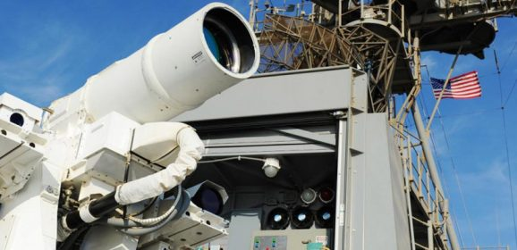 Laser Weapon System Developed by the United States