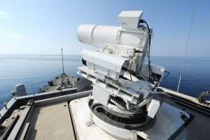 XN-1 LaWS laser weapon